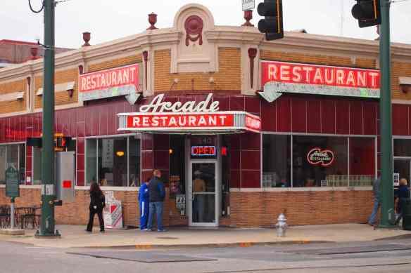 Historic Arcade Restaurant.
