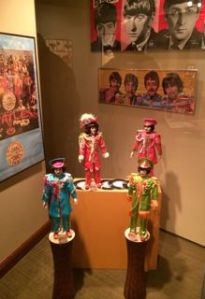 Part of Rod Mandeville's collection of Beatles memorabilia.